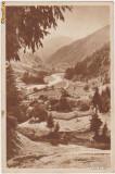 Valea Lotrului la Voineasa,sepia,1961