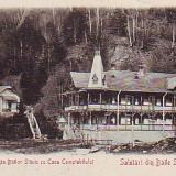 Ok-0900- Ro.Salutari Baile Slanic Moldova, c.p. UPU necirc.1902: Casa compt.