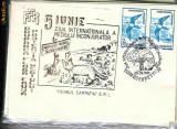 Plic special  5 iunie , ziua internationala a mediului inconjurator, Bucuresti, 05.06.91