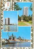 CP200-09 Constanta -Litoral -carte postala, circulata 1970 -starea care se vede