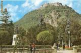 CP200-15 Deva. Cetatea(sec.XV) -carte postala, circulata 1971 -starea care se vede