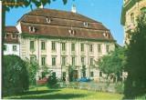 CP200-28 Sibiu. Muzeul Brukenthal -carte postala, circulata 1967 -starea care se vede
