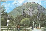 CP200-10 Deva -Cetatea(sec.XV) -carte postala, circulata 1982 -starea care se vede
