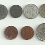 Moneda 5 lei 1942 1 leu 1924