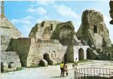 CP201-86 Tirgu Neamt. Cetatea Neamt -carte postala, necirculata -starea care se vede