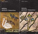 V.Lazarev / Istoria picturii bizantine (3 volume, cu ilustratii)