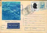 Carte postala Scornicesti, circulata din Germania catre Romania, 1974, PA
