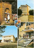 CP201-91 Judetul Maramures: Hoteni; Borsa; Viseu de Sus (stema)(port popular)-carte postala, necirculata -starea care se vede