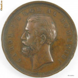 Carol I - Concurs de agricultura si industrie 1881 - Medalii Romania
