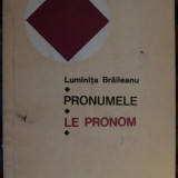 Luminita Braileanu - Le pronom