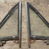 Set geamuri triunghiulare cu rama pt. Fiat 850 Sport