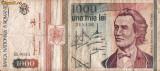 BANCNOTA 1000 LEI MIHAI EMINESCU MAI 1993