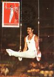 Carte maxima gimnastica, inele