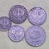 Lot monede Polonia 1923-1929  5 buc.