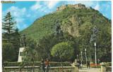 Carte postala(ilustrata)-DEVA-cetatea