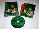 Joc Playstation 2 - PS2 - Silent Scope 3, Actiune, Toate varstele, Single player, Sony