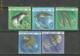 Rusia 1991 - FAUNA DIN MAREA NEAGRA, serie MNH, R15