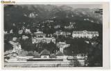 ROMANIA 1935 ilustrata foto statiunea Sinaia judetul Prahova vedere generala, Necirculata, Fotografie