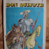 DON QUIJOTE - MIGUEL DE CERVANTES - carte in format mare pentru copii - Carte educativa