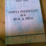 STIINTA POLITICULUI DE LA REAL LA IDEAL