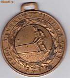 Medalie sport CUPA TINERETULUI DE LA SATE 1974-TENIS- locul III