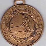 Medalie sport CUPA TINERETULUI DE LA SATE 1974-TENIS- locul III - Medalii Romania