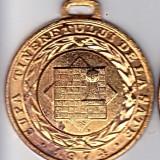 Medalie sport CUPA TINERETULUI DE LA SATE 1974 SAH locul I - Medalii Romania