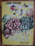 CINE STIE MAI MULTE POEZII - SABIN OPREANU - carte pentru copii