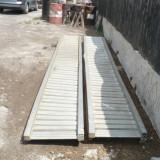 Rampe aluminiu pentru utilaje