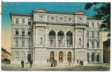 1607 - TIMISOARA - Teatrul Ferencz Jozsef, animata - used