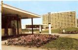 CP208-07 Mamaia -restaurantul si hotelul Flora -RPR(ONT Carpati) -carte postala necirculata -starea care se vede