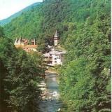 CP208-23 Baile Herculane -Valea Cernei -carte postala circulata 1983 -starea care se vede
