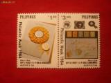 Serie- Saptamana Filatelica 1984 Filipine , 2 val.