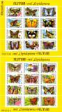 Set Blocuri timbre FLUTURI, 1991