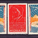 Timbre MONACO 1951-54 Nest. fara guma - Timbre straine