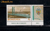 ROMANIA-2011 PASAJUL  BASARAB  + TABS  LP 1905