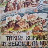 TARILE ROMANE IN SECOLUL AL XIVLEA-CODEX LATINUS PARISINUS-ION DUMITRIU- SNAGOV - Istorie