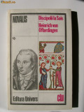 NOVALIS DISCIPOLII LA SAIS-HEINRICH VON OFTERDINGEN, 1980