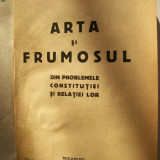 TUDOR VIANU-ARTA SI FRUMOSUL-ED.1931 - Carte veche