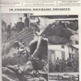 Revista Gazeta Ilustrata : in preziua bataliei decisive, primul razboi mondial (1915) - Fotografie veche