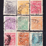 Timbre BRAZILIA 1920-41 - Lot de 15 v st.