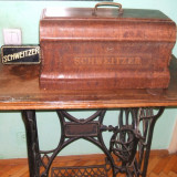 Masina de cusut Scweitzer , Seria : 2274954 , Pieasa de coletie in stare perfecta de functionare !