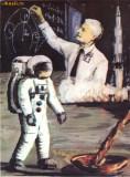Ilustrata Cosmonautica - 20 de ani de la primul pas al omului pe luna si Herman Oberth teoretician al zborului interplanetar