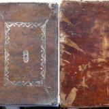 Lucrare ebraica de secol 19 , Tilsit , actualmente Polonia , legata integral in piele