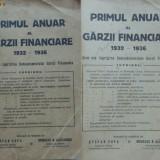 Primul anuar al Garzii Financiare, 1932 - 1936 - Carte Editie princeps