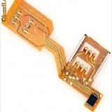 ADAPTOR DUAL SIM 3G/4G ( DUALSIM ADAPTER ) ONLINE PANGLICA pentru iPhone 3G/3GS, Galaxy seria S2, S ... si multe alte tel 3G si LTE