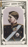 Carte postala publicitara -casa regala-Regele Ferdinand-tip cromolitho, Necirculata, Printata