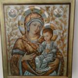 ICOANA - litografie pe suport lemn