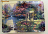"Farfurie decorativa "" Garden of Prayer "" ~Thomas Kinkade~"
