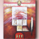 Tablou Abstract 3 - 60x50cm ulei/panza pe sasiu